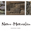 Collage Naturmaterialien