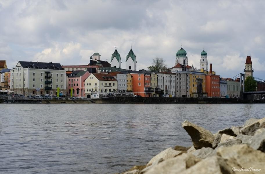 Stadtansicht - Passau